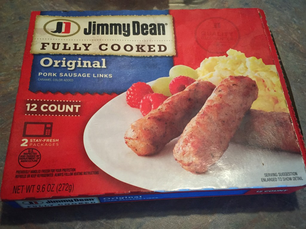 Jimmy Dean Fully Cooked Sausage Links