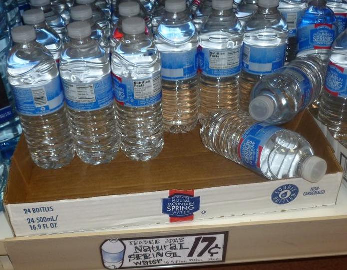 TJ's water