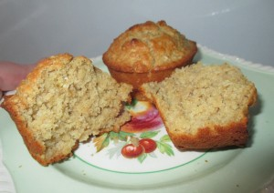Buttermilk Oatmeal Muffins 1