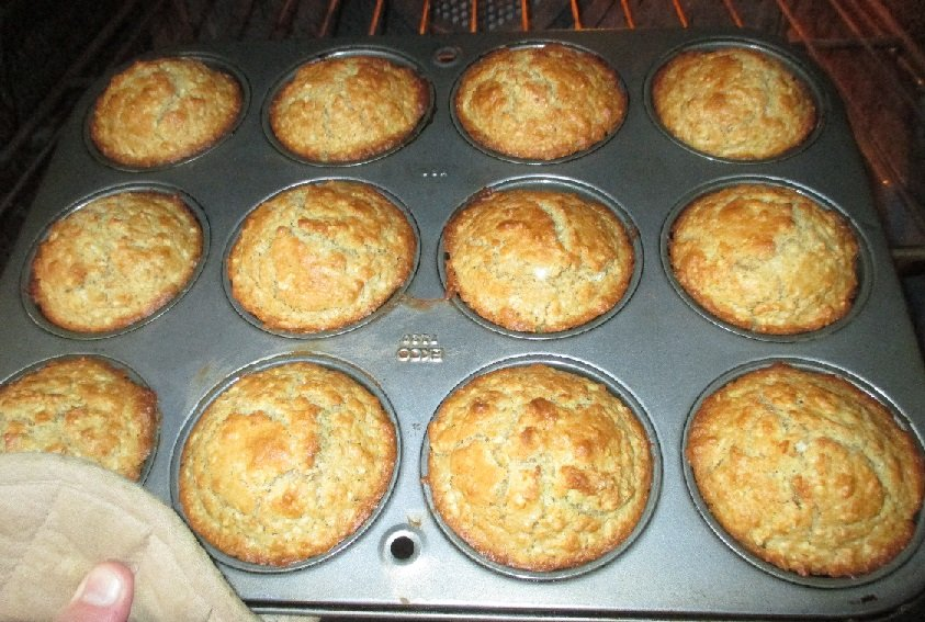 Buttermilk Oatmeal Muffins 2