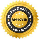 MyFavDeals Official Seal of Approval - Recommended Products and Services