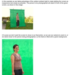 Green Screen Wizard explanation of how it works