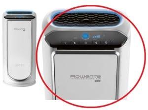 Rowenta PU6020 Intense Pure Air HEPA Filter Air Purifier Pollution Sensors 29-Inch