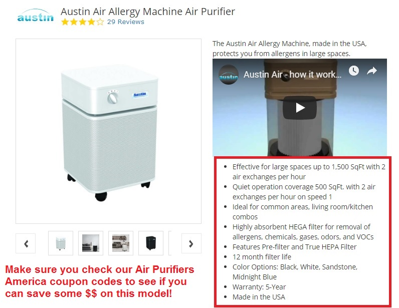 Austin Air Allergy Machine Review