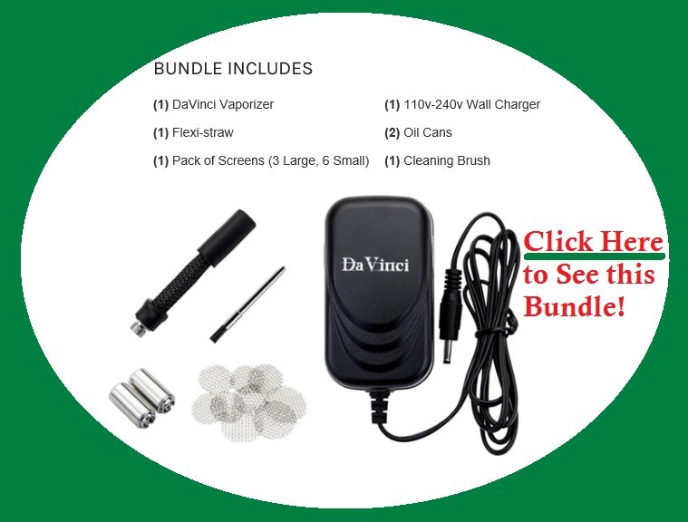 DaVinci Vaporizer Bundle coupon code