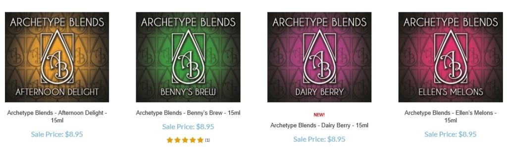 buy buy archetype blends e-juice at litecigusa