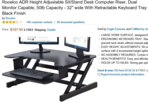 rocelco-adr-height-adjustable-sit-stand-desk-computer-riser-dual-monitor-capable