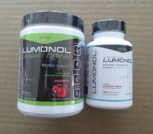 Lumonol Smart Drink and Capsules from my Lumonol Review at MyFavDeals.org