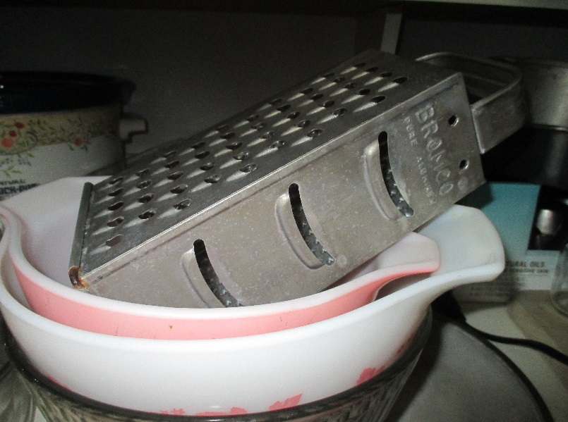 Vintage Bromwell Cheese Grater