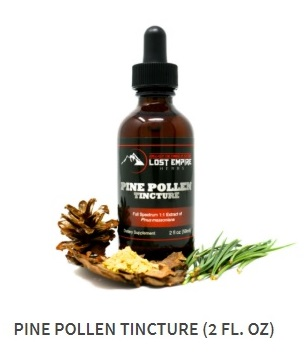 And THIS is where to buy Pine Pollen Tincture